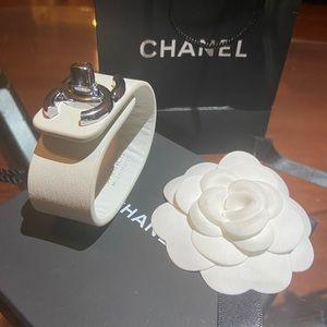 Chanel Leather Bracelet